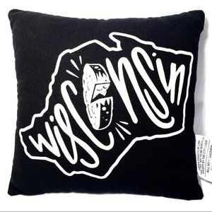 """Pillow 10""""x10"""" Wisconsin Primitives by Kathy"""